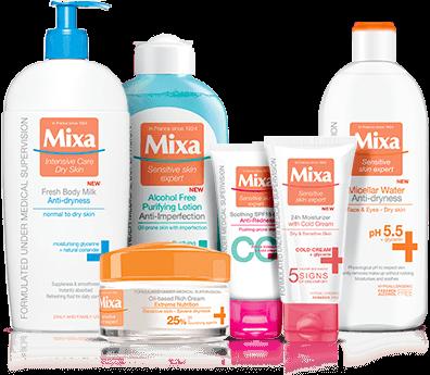 produkty Mixa
