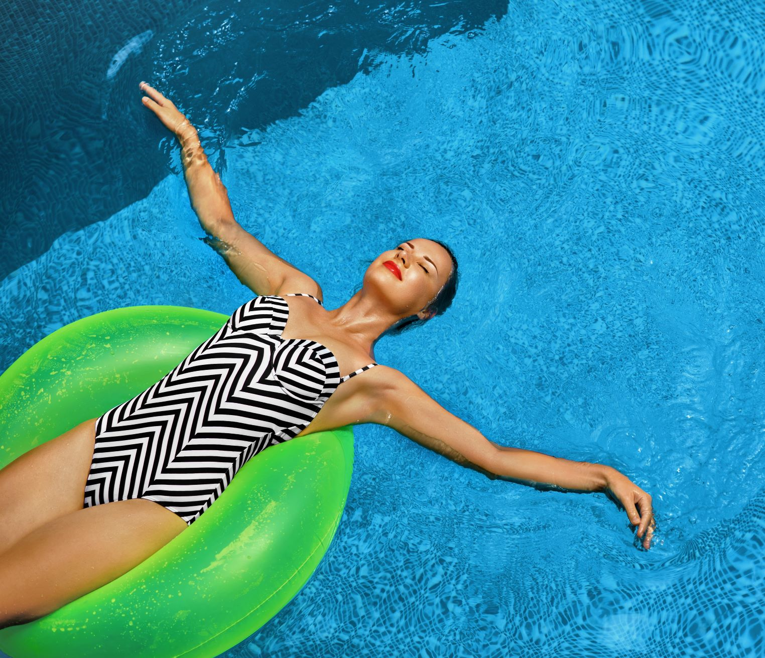 Do bazéna s citlivou pleťou